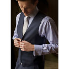 Brook Taverner - Stokesay Three Piece Suit Waistcoat Mens Super 110'S Tailored