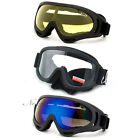 Safety Sports Goggles Airsoft Ski Motorsport Tactical Single Lens Night Boarding