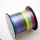 Multi color 100% PE Dyneema 8 / 4 strands Spectra Braid Fishing Line 500m