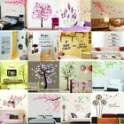 DIY Flower Bird Tree Removable Vinyl Wall Decal Stickers Art Mural Home Decor US