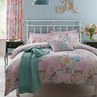 Catherine Lansfield Vintage Collage Pink Hearts Duvet Quilt Cover Bedding Set