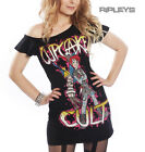 Evil Clothing Cupcake Cult Ladies T Shirt PUNK REBEL Fairy Goth All Sizes