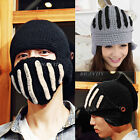 Unisex Women Men Roman Knight Winter Warm Ski Knit Crochet Mask Hat Cap Beanie