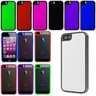 For iPhone 5 5S Softgrip Bumper Hard Cover Gel Soft Case Accessory