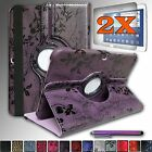 For Samsung Galaxy Tab 3 10.1 inch Tablet GT- P5210 Rotating Leather Case Cover