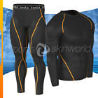 New Mens Compression Under Base Layer Armour Wear Core Shirt Pant UITR01P06BO
