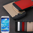 ULTRA SLIM BRUSHED ALUMINIUM METAL CASE COVER FOR SAMSUNG GALAXY S3 III S4 IV