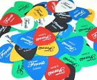 Ferris PVC Plectrums Picks,  Pack Of 48,  Available In Gauges,  0.5,  0.6,  0.8