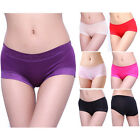Sexy Ladies Lingerie Bamboo Fiber Panties Seamless Underwear Knickers G-string