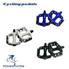 Alloy High Quality MTB Bike Cycling Bicycle Pedals Flat Platform 3 Colors 9/16""