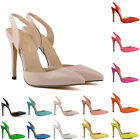 SUMMER WOMENS PARTY PATENT WEDDING HIGH HEELS SHOES SANDALS SIZE US 4-11