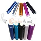 Portable External USB 2600mAh Cell Phone Battery Charger Power Bank