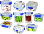 SISTEMA CLEAR KLIP IT TO GO RANGE - LUNCH BOX CONTAINER STORAGE PLASTIC TRAVEL