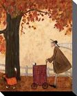 SAM TOFT - FOLLOWING THE PUMPKIN ART PRINT WITH FRAME OPTIONS OR AS BOX CANVAS