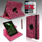 For iPad MINI 1 and 2 with Retina Display Rotating PU Leather Case Cover Stand
