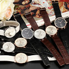 DALAS Fashion Ladies Women Second Sub Dial Quartz 8 Colors Leather Wrist Watch