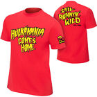 WWE HULK HOGAN HULKAMANIA COMES HOME OFFICIAL T-SHIRT ALL SIZES NEW
