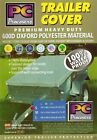 TRAILER COVER WATERPROOF POLYESTER TAILORED FIT 6 X 4 SMALL