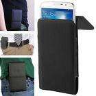 Case PU Leather Belt Clip Bag Pocket Cover Holster For HTC Mobile Smart Phone