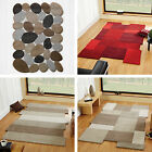Abstract Pebble Broadwalk Collage Flair Rugs Textured Soft Wool Shaped Rug