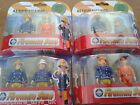 FIREMAN SAM TWIN PACK ACTION FIGURES - Fireman Sam with Axe / Officer Steele