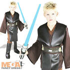 Deluxe Anakin Jedi Boys Star Wars Fancy Dress Kids Halloween Childs Costume New