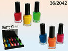 Neon Nail Polish - 6 Different Colours -Red Yellow Green Blue Orange Pink Paint