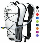 ANDES 2 LITRE HYDRATION PACK/BACKPACK BAG RUNNING/CYCLING WITH WATER BLADDER