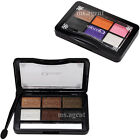 Neutral Warm Eyeshadow Makeup Palette Cosmetic 6 Colors Smoky Shading Powder Kit