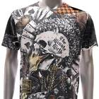 m117 Minute Mirth S M L XL T-shirt Vtg Classic Skull Card Gamble Casino Street