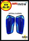Mitre Aircell Carbon Slip Shin Guards/Pads Mens/Adults/Kids/Boys Size XS/S/M/L