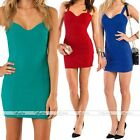 Fashion Women's European Strap Sexy Club Party Cocktail Evening Mini Dress