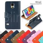 New Leather Flip Case Cover Pouch for Samsung Galaxy S5 / SM-G900 / SM-G900F