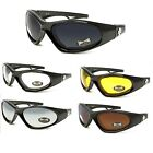 NEW Safety Glasses Shatterproof Lens Choppers Motorcycle Biker CP909 multi