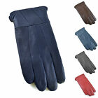 Ladies Lined Sheepskin Leather Gloves Winter Rain Outdoor Accessory S/M Or M/L