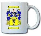 MC CAUSLAND COAT OF ARMS COFFEE MUG