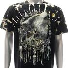 b137 Survivor T-shirt M L XL XXL XXXL Tattoo STUD Skull Fox Wolf Dream Catcher