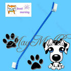 Brand New Lovely Grooming Dual End Tooth Brush For Pet Dog Puppy Cat G