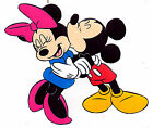 "5.5-8"" DISNEY MICKEY MINNIE IN LOVE WALL SAFE STICKER CHARACTER BORDER CUT OUT"