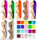 """26"""" Straight Clip In Neon Colour Ponytail Hair Piece Festivals Raves Fancy Dress"""