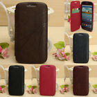 Flip PU Leather Card Wallet Pouch Hard Case Cover For Samsung Galaxy S3 i9300