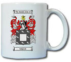 SEDGWICK COAT OF ARMS COFFEE MUG