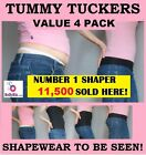 TOTAL VALUE (4 Pack) LADIES INSTANT TUMMY TUCK TOP SHAPEWEAR Made 2B Seen Active