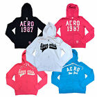 Aeropostale Aero Women's Zip Up Hoodie Jacket Graphic Sweatshirt New V016++