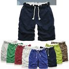 New! 8Color Mens Sports Gym Jogger Rope Leisure Shorts Sweat Pants Trousers -LD