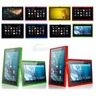 Multi-Color 7 A33 8GB Google Android 4.4 Quad Core Cameras Tablet PC Wifi New