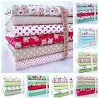 CHRISTMAS FABRIC BUNDLES 100% COTTON RILEY BLAKE home for the holidays