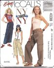 4038 UNCUT Vintage McCalls Sewing Pattern Teen Juniors Pull on Skirt Pants NY NY