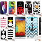 For Samsung Galaxy Note 3 N9005 N9000 TPU SILICONE Rubber Case Cover + Pen