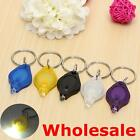 Flashlight Keychain Mini LED Light Torch Keyring Key Chain Camping Hiking LAMP